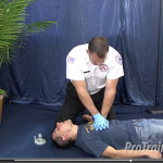 Question Answered Regarding Aggresive Chest Compressions and Unconscious Choking Patient