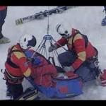 Lindsey Vonn Super G Skiing Accident Medical Breakdown