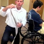 They're Choking And I Can't Get Them Out Of The Wheelchair!