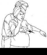 pregnantchokingfemale