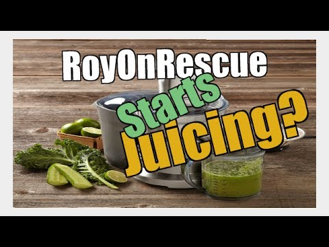 Roy Goes Juicing For The First Time!