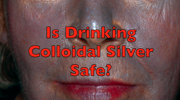 Can Drinking Colloidal Silver Turn You Blue Permanently